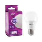 Лампа светодиодная REV LED, A60, 10 Вт, Е27, 4000 K, нейтральный свет