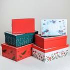 Набор подарочных коробок 6 в 1 «Стильный», 20 × 12,5 × 7,5‒32,5 × 20 × 12,5 см