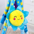 Развивающий коврик - вигвам «Морские приключения», с дугами, 100*100см + ПОДАРОК мягкая музыкальная игрушка - фото 105523434