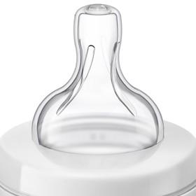 Бутылочка для кормления 125 мл., от 0 мес., медленный поток, серия Anti-colic