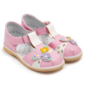 Сандалии детские, цвет розовый, размер 28,5