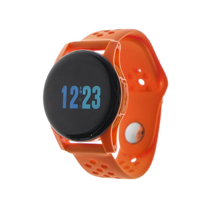 """Смарт-часы Smarterra ZEN, цветной дисплей 1,3"""", оранжевые"""