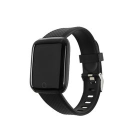 "Смарт-часы Smarterra Fitmaster AURA, 1.3"", TFT, IP67, BT4.0, 150 мАч, чёрные"