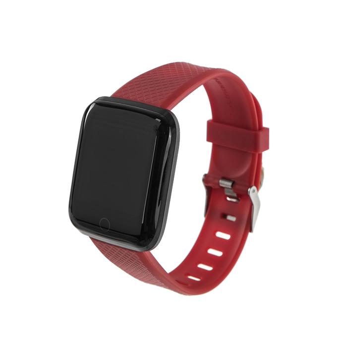 """Смарт-часы Smarterra Fitmaster AURA, цветной дисплей 1.3"""", красные"""