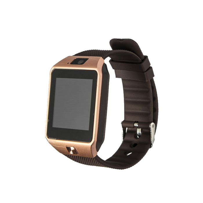 """Смарт-часы Smarterra SmartLife X, сенсорный дисплей 1.54"""", sim-карта, цвет розовое золото"""
