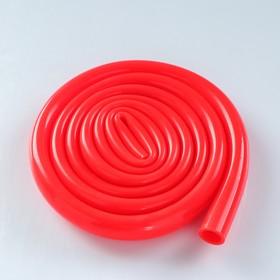 Hose Shisha 150 cm, gloss, inner d=12 mm, wall thickness 2 mm, red