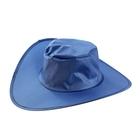Шляпа складная в чехле, цвет синий, обхват головы 58 см, ширина полей 9 см