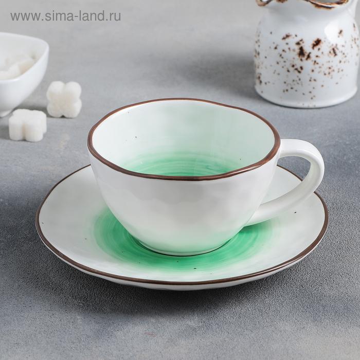 "A couple of tea ""IO"": Cup 250 ml, saucer 16 cm"