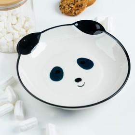 Тарелка «Панда», 20×3,5 см