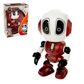 Робот «Повторюшка», реагирует на прикосновение, световые и звуковые эффекты, цвета МИКС