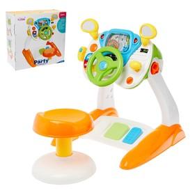 Развивающий столик «Крутой водитель», со стульчиком, световые и звуковые эффекты