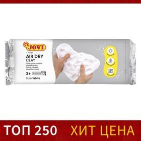 Масса для лепки самозатвердевающая полимерная, белая 500 г, JOVI
