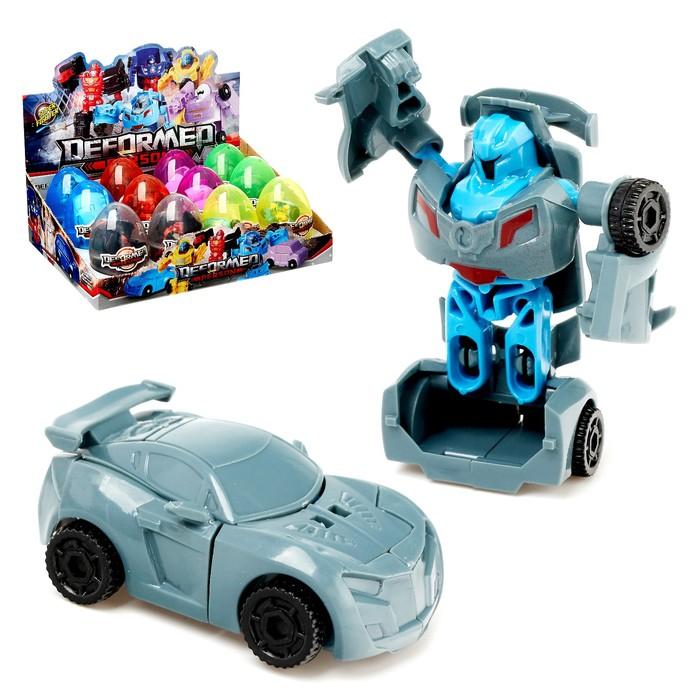 Робот «Автобот-сюрприз», трансформируется, МИКС - фото 105504832