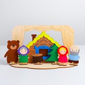 """Table theater """"Masha and the bear"""" (complete set) 1001009"""
