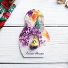 """Suspension-matryoshka postcard """"Love Russia"""", 6 x 9.4 cm"""
