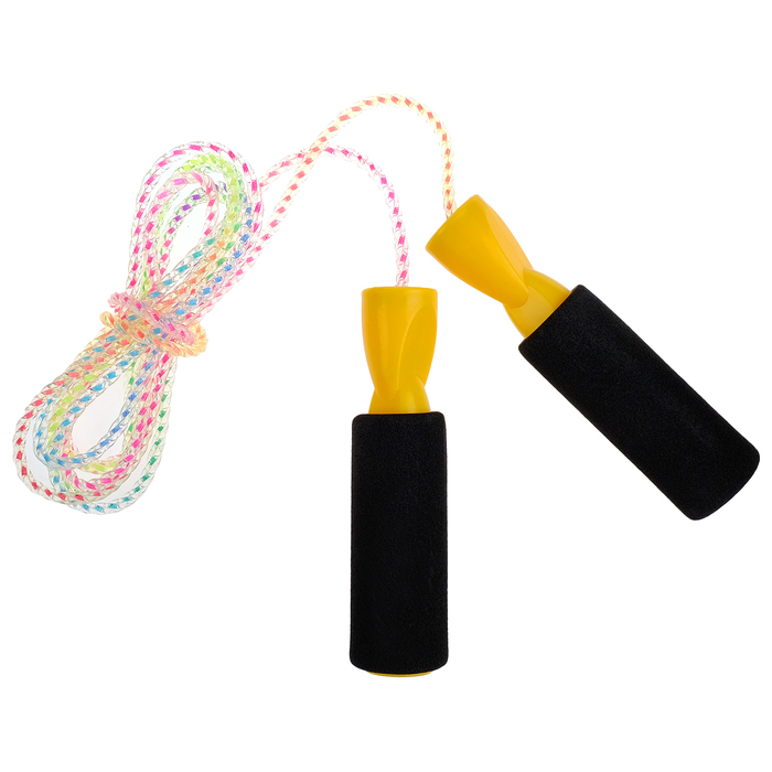 Скакалка, 2,8 м, цвета МИКС