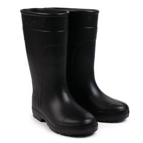 Сапоги женские из ЭВА, цвет черный, размер 36-37