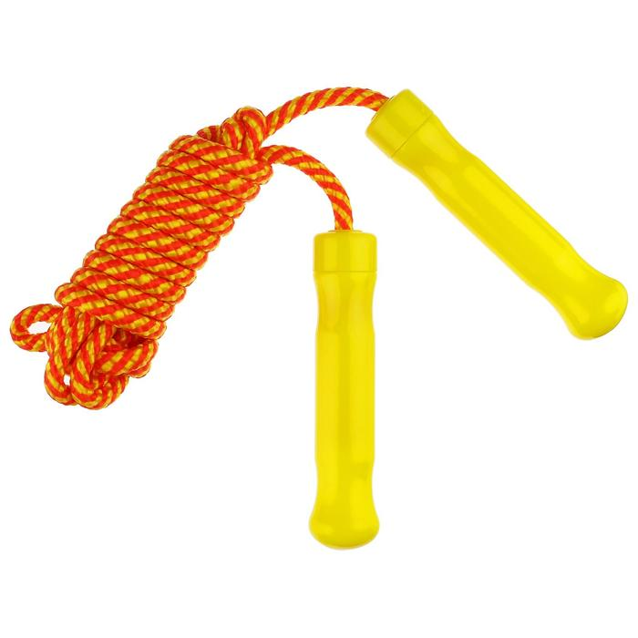 Скакалка, 2,6 м, нейлон, цвета МИКС
