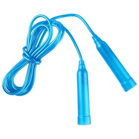 Скакалка пластиковая, 2,5 м, цвета МИКС