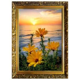 """Алмазная мозаика """"Цветочное пробуждение"""" 29,5×20,5 см, 25 цветов"""
