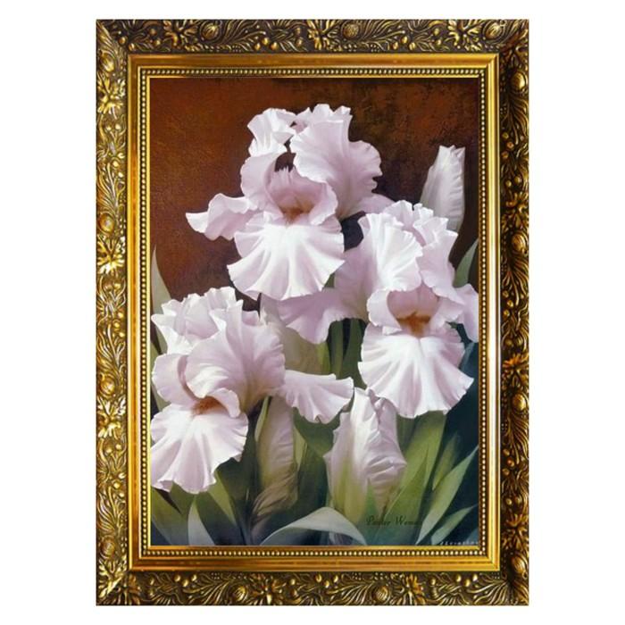 Алмазная мозаика «Изысканная красота» 29,5×20,5см, 24 цвета