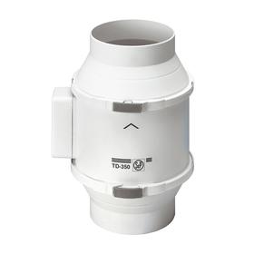Вентилятор S&P TD1300/250, 230 В, круглый, канальный, 50/60 Гц