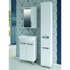 Комплект мебели Callao 500: тумба с раковиной + шкаф-зеркало
