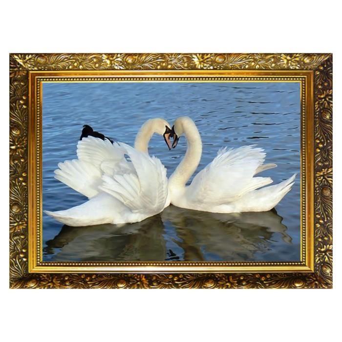 """Алмазная мозаика """"Истинная любовь"""" 29,5×20,5 см, 25 цветов"""