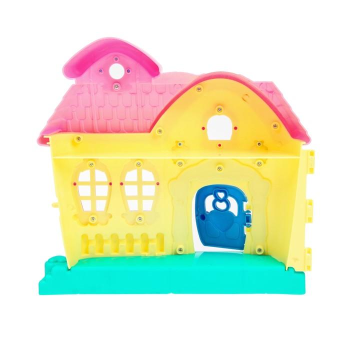 """Дом для кукол """"Мой любимый дом"""" с мебелью, световые и звуковые эффекты"""