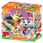 "3D Puzzle 48 El. ""44 kitten. Plot 1"" 13725"