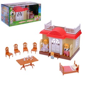 Дом для зверей «Дачный» с мебелью