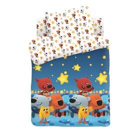 Детское постельное бельё «Ми-ми-мишки» Ночное небо, 147х112, 150х110, 40х60