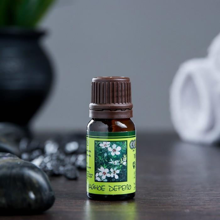 """Эфирное масло """"Чайного дерева"""" в индивидуальной упаковке, 10 мл"""
