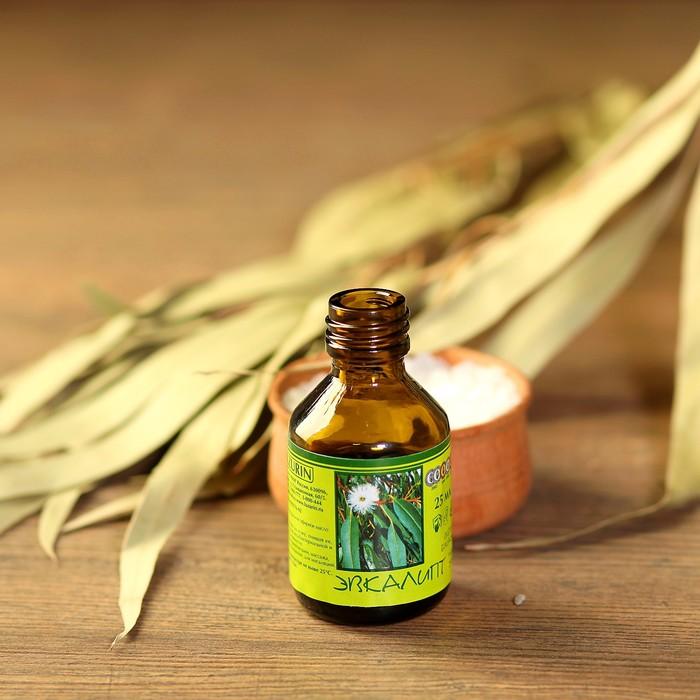 Эфирное масло Эвкалипта в индивидуальной упаковке 25 мл