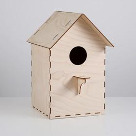 """Скворечник для птиц """"Собери сам"""" разборный, 25 х 24 х 37 см"""