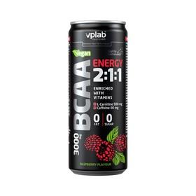 VPLAB BCAA Energy 2:1:1 / 330 мл / Малина