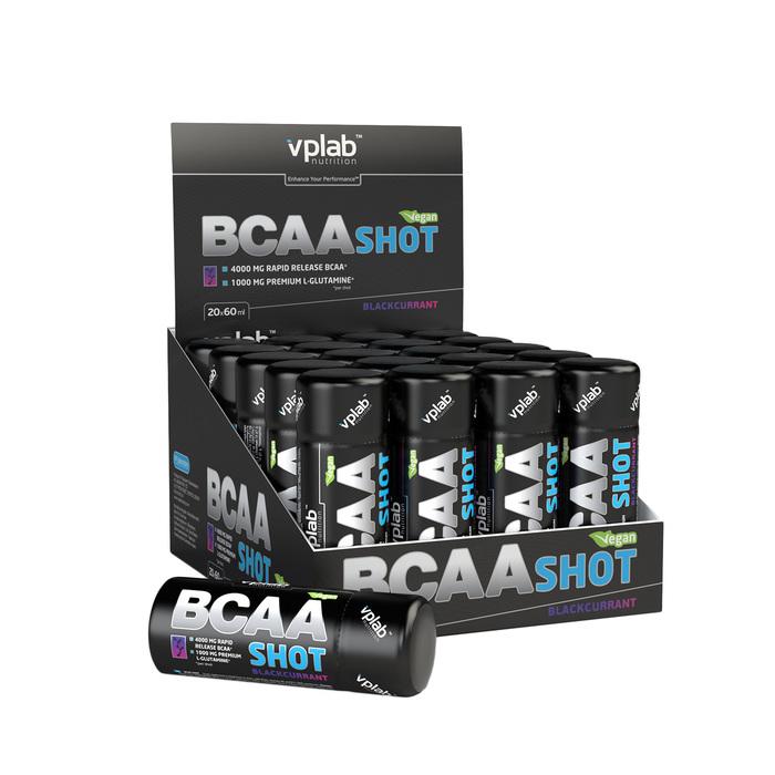 VPLAB BCAA Shot / 20 ампул / Черный Смородина