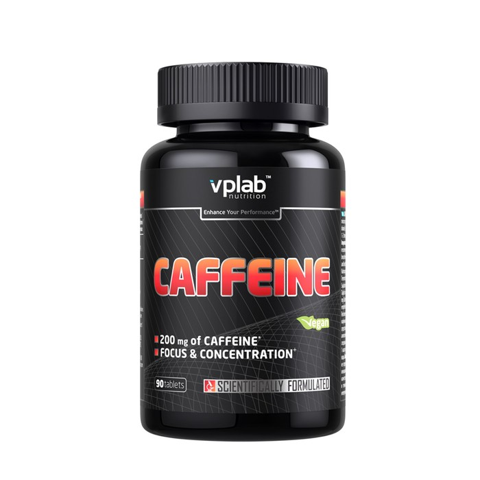 VPLAB Caffeine 200mg / 90 капс
