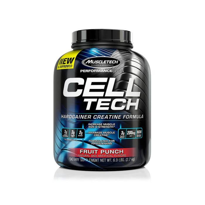 Креатин МТ Cell Tech  / 2,72 кг  / Фруктовый Пунш