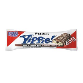 Weider Yippie! Bar  / 45 г / Печенье с шоколадом