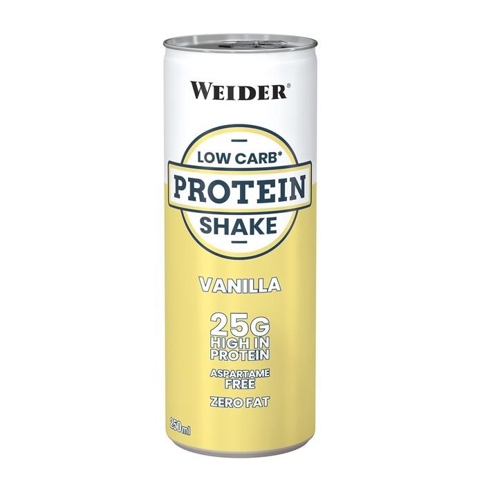 Weider Low Carb Protein Shake / 250 мл / Ваниль