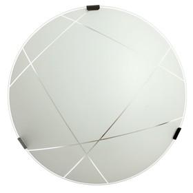 Светильник 1071005204997 E27 60W матовый белый 25х25х7,2см