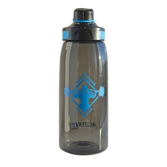 Бутылка для воды Aсtive live 900 мл, голубой