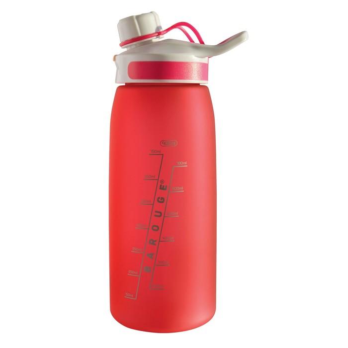 Бутылка для воды Aсtive live 900 мл, красный