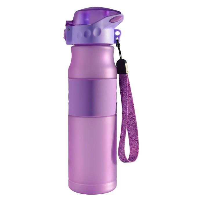 Бутылка для воды Aсtive live 600 мл, фиолетовый