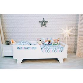 Детская кровать Беби белый