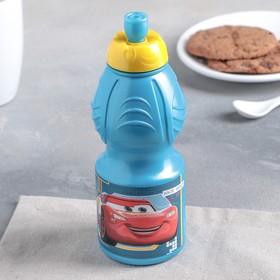 """Бутылка пластиковая 400 мл """"Тачки. К гонкам готов"""""""