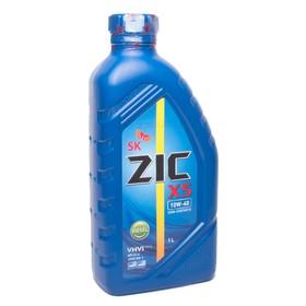 Масло моторное ZIC X5 Diesel 10W-40, Cl-4, п/синтетическое, 1 л Ош