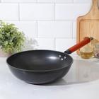 Сковорода-Wok «Жаклин», d=32 см, деревянная ручка - фото 227445