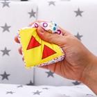 Развивающая игрушка «Кубики - пазл Подводный мир», мягкие - фото 105529134